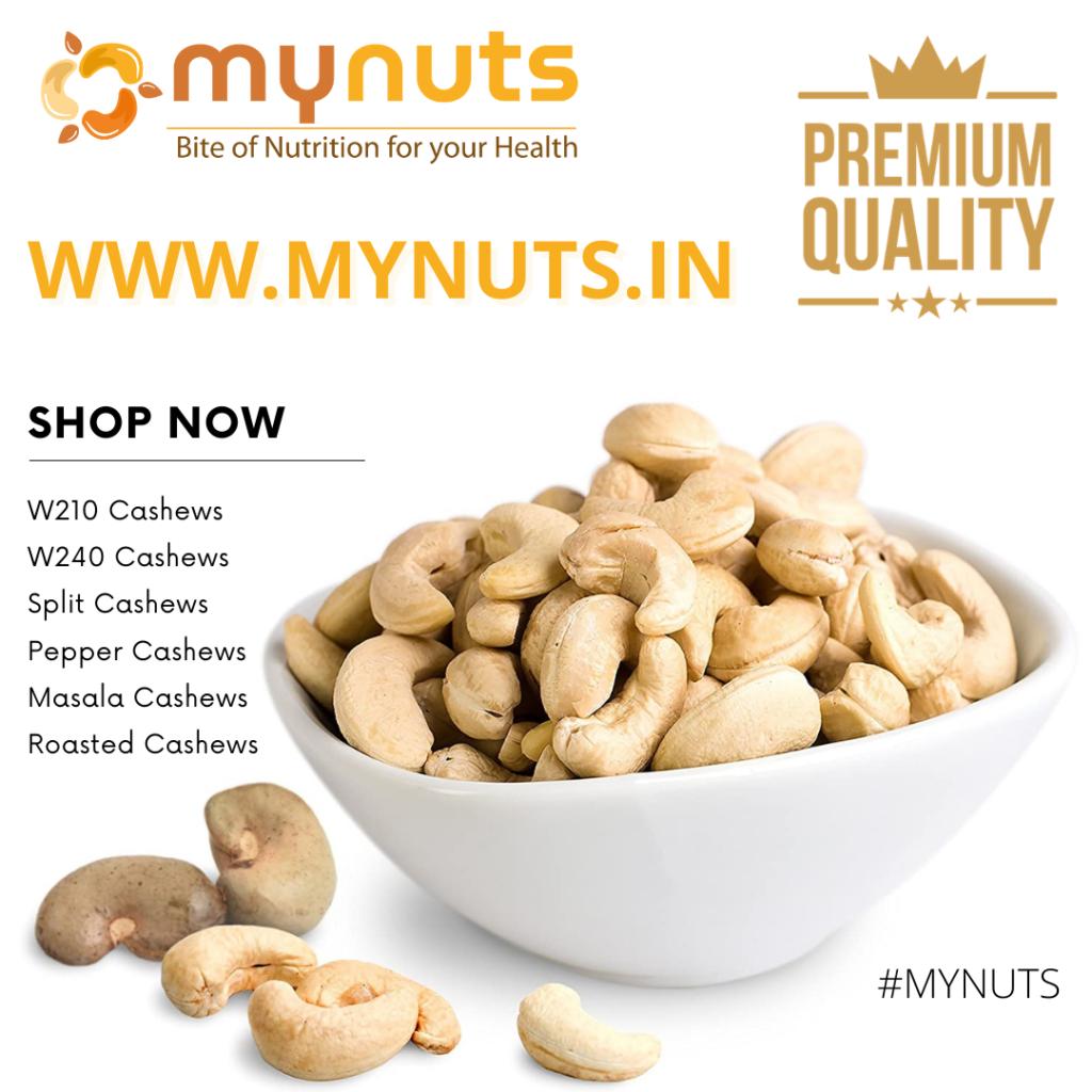 Mynuts: Buy Cashews Online