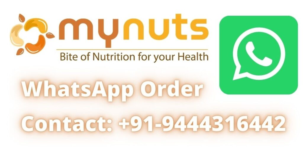 Mynuts.in How To Place An Order On WhatsApp